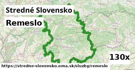 ilustračný obrázok k Remeslo, Stredné Slovensko