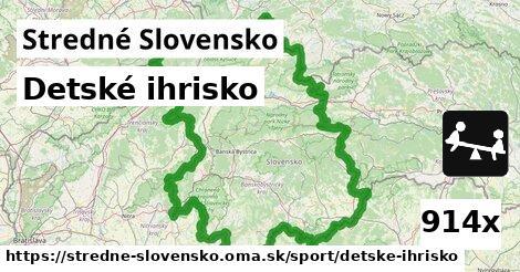 detské ihrisko v Stredné Slovensko