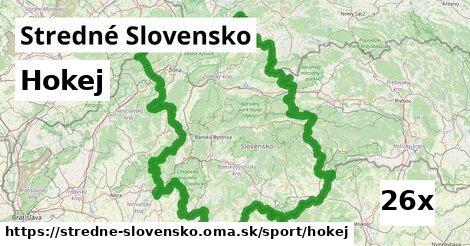 hokej v Stredné Slovensko