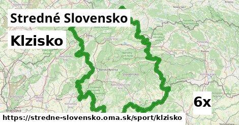 klzisko v Stredné Slovensko