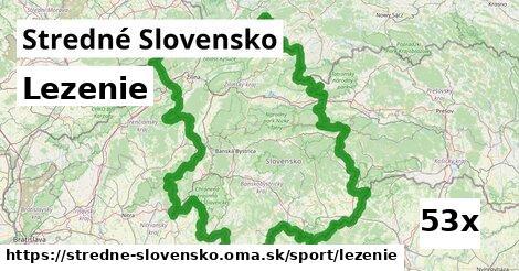 lezenie v Stredné Slovensko