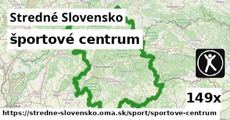 športové centrum v Stredné Slovensko