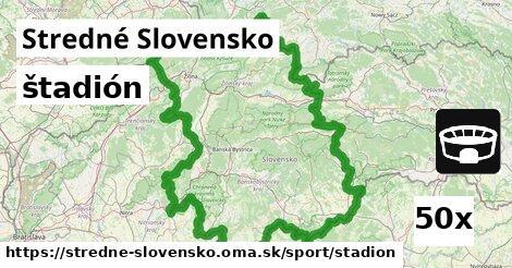 štadión v Stredné Slovensko