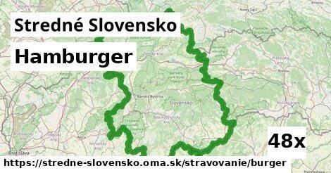 ilustračný obrázok k Hamburger, Stredné Slovensko