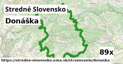 ilustračný obrázok k Donáška, Stredné Slovensko