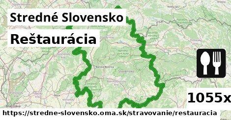 ilustračný obrázok k Reštaurácia, Stredné Slovensko