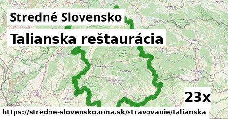 ilustračný obrázok k Talianska reštaurácia, Stredné Slovensko