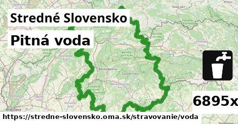 ilustračný obrázok k Pitná voda, Stredné Slovensko