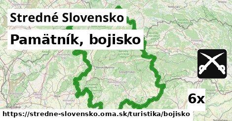ilustračný obrázok k Pamätník, bojisko, Stredné Slovensko