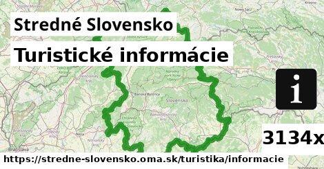 turistické informácie v Stredné Slovensko