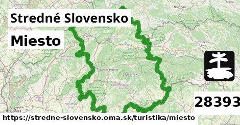 ilustračný obrázok k Miesto, Stredné Slovensko