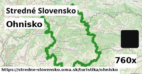 ohnisko v Stredné Slovensko