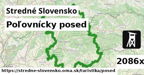ilustračný obrázok k Poľovnícky posed, Stredné Slovensko