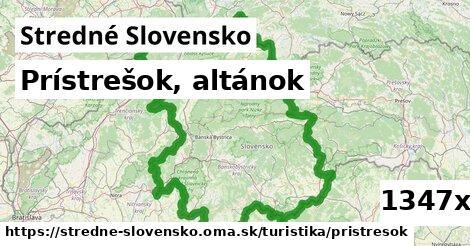ilustračný obrázok k Prístrešok, altánok, Stredné Slovensko