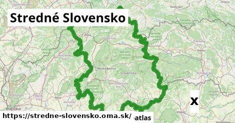 strom v Stredné Slovensko