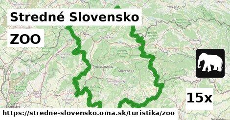 ilustračný obrázok k ZOO, Stredné Slovensko