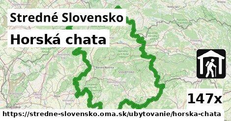 ilustračný obrázok k Horská chata, Stredné Slovensko