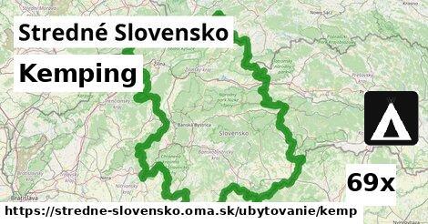 ilustračný obrázok k Kemping, Stredné Slovensko