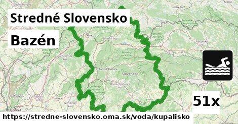kúpalisko v Stredné Slovensko
