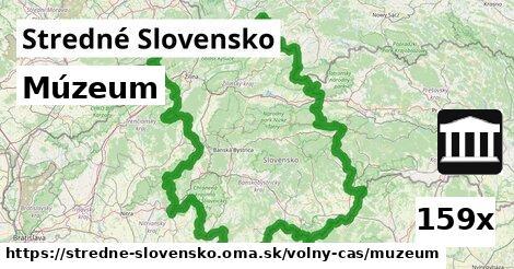 múzeum v Stredné Slovensko
