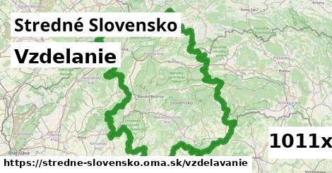vzdelanie v Stredné Slovensko