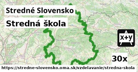 stredná škola v Stredné Slovensko