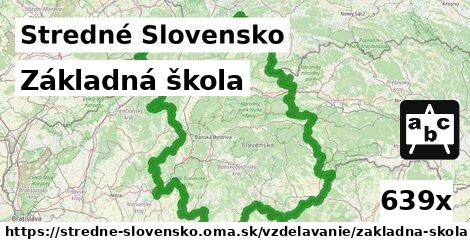 základná škola v Stredné Slovensko