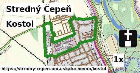 kostol v Stredný Čepeň