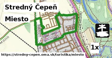 miesto v Stredný Čepeň