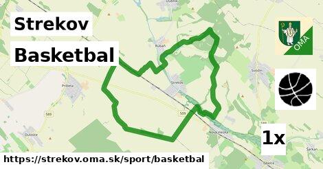 basketbal v Strekov