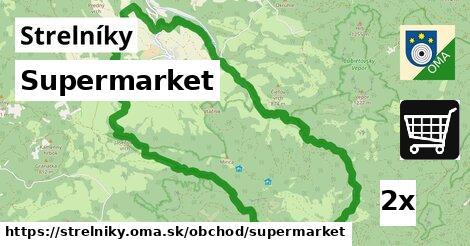 supermarket v Strelníky
