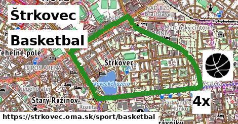 basketbal v Štrkovec