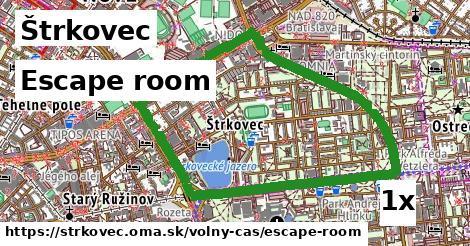 escape room v Štrkovec