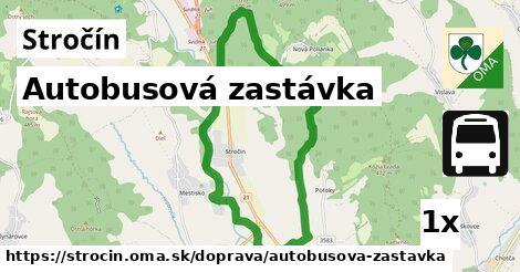 ilustračný obrázok k Autobusová zastávka, Stročín