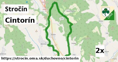 ilustračný obrázok k Cintorín, Stročín
