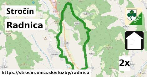 ilustračný obrázok k Radnica, Stročín