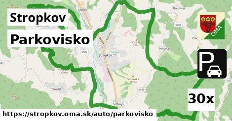 ilustračný obrázok k Parkovisko, Stropkov