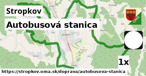 ilustračný obrázok k Autobusová stanica, Stropkov
