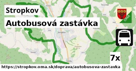 ilustračný obrázok k Autobusová zastávka, Stropkov