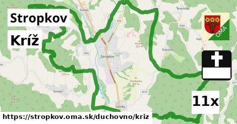 ilustračný obrázok k Kríž, Stropkov