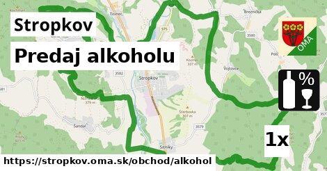 ilustračný obrázok k Predaj alkoholu, Stropkov