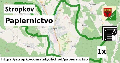 ilustračný obrázok k Papiernictvo, Stropkov
