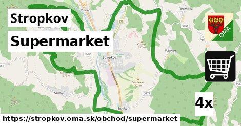 ilustračný obrázok k Supermarket, Stropkov