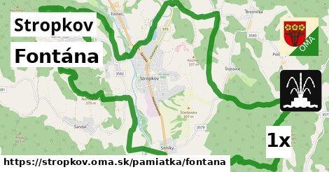 ilustračný obrázok k Fontána, Stropkov