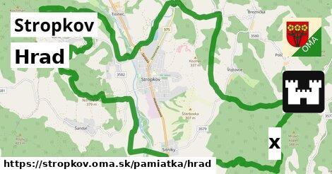 ilustračný obrázok k Hrad, Stropkov