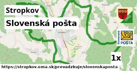 ilustračný obrázok k Slovenská pošta, Stropkov