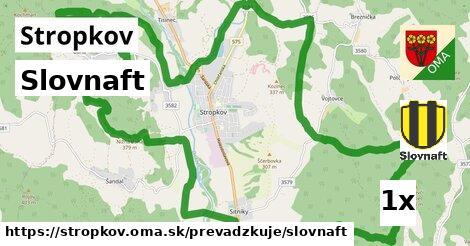 ilustračný obrázok k Slovnaft, Stropkov