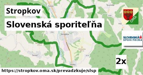 ilustračný obrázok k Slovenská sporiteľňa, Stropkov