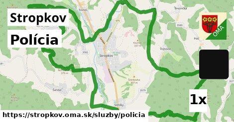 ilustračný obrázok k Polícia, Stropkov
