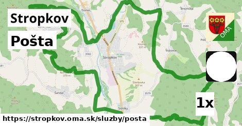 ilustračný obrázok k Pošta, Stropkov